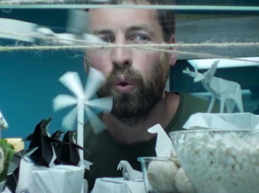 Buzdolabında bir origami dünyası