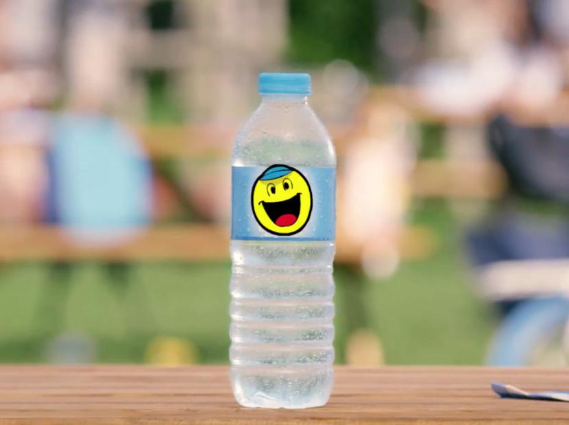 Bir yaşam koçu olarak su şişesi