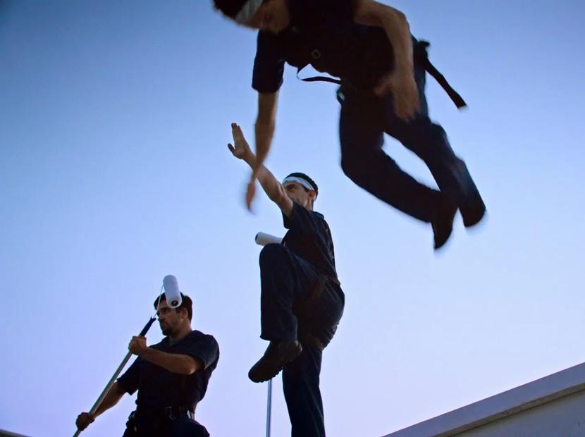 Dış cephe boyası ninjalara emanet