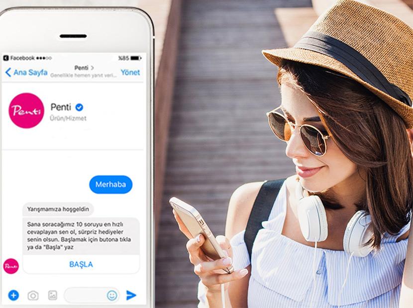 Penti'den Messenger Bot yarışması