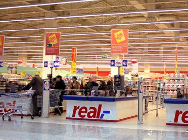 Real Hipermarketler Zinciri için iflas kararı
