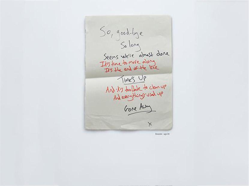 Hayatta kalanların intihar mektupları