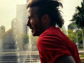Beckham'dan sağlıklı yaşama çağrı var