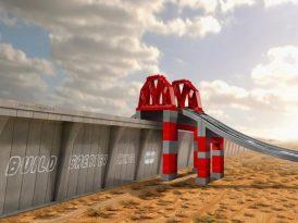 Trump'ın duvarı varsa LEGO'nun köprüsü var