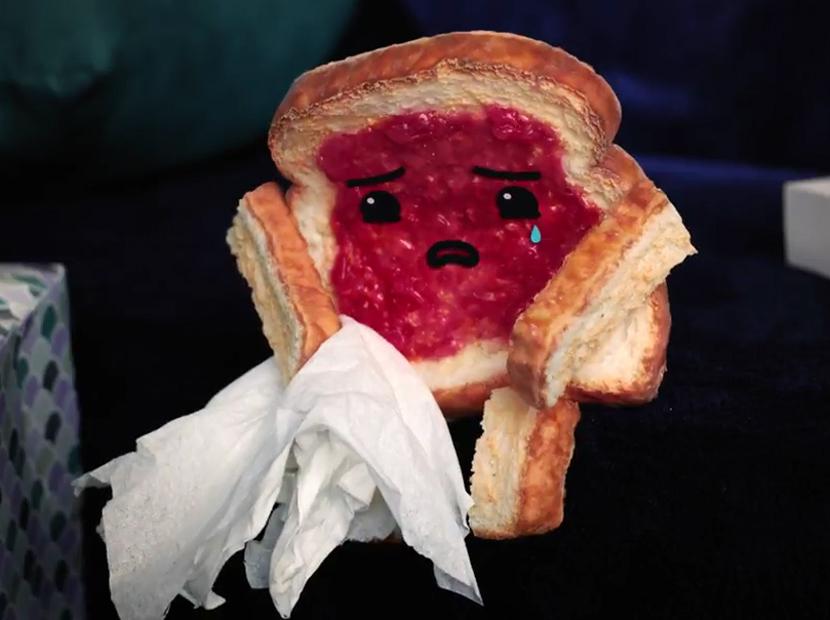 Reçelli ekmek ve bir dilim aşk acısı
