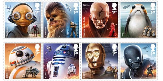 Star Wars Son Jedi posta pulları