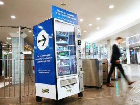 IKEA'dan otomat açılımı