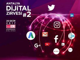 Turizm sektörü Antalya Dijital Zirvesi'nde buluşuyor