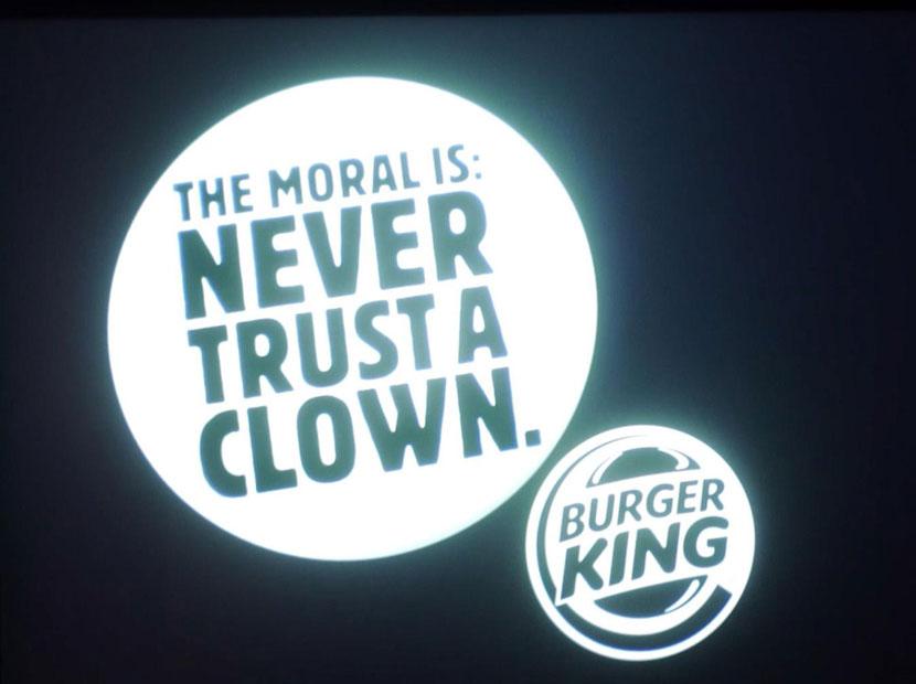 Burger King'ten korkutan mesaj