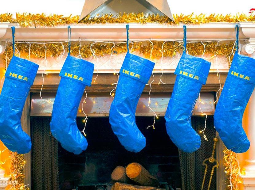 Noel çorabına farklı bir yaklaşım