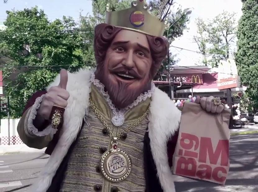 """Whopper isteyen McDonald's'a gitsin"""