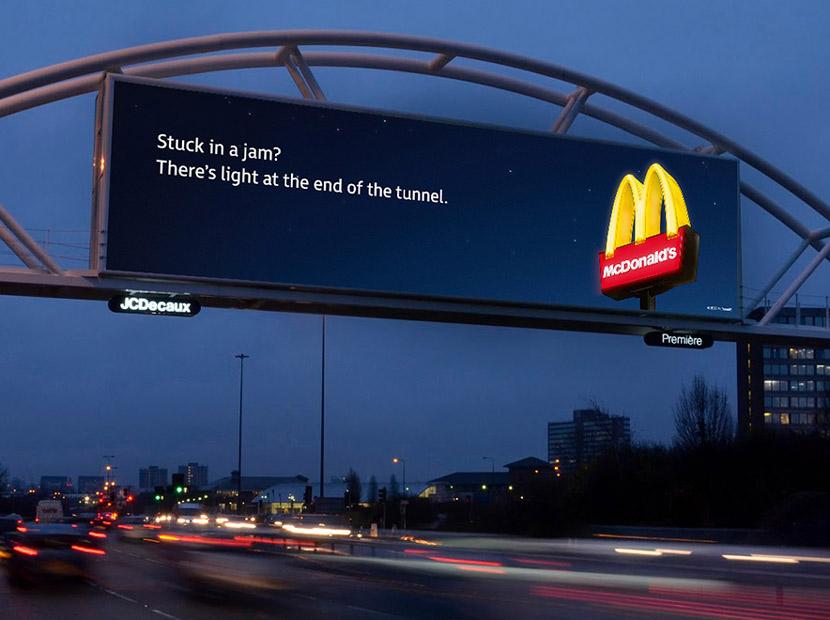 Trafikte kalanlara McDonald's'ın bir teklifi var