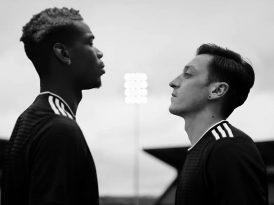 Paul Pogba Mesut Özil'e karşı