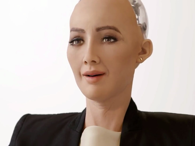 Robot Sophia viral oldu