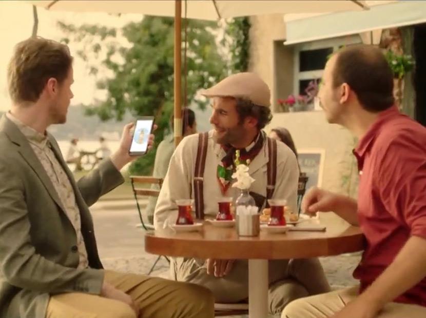 Bir İngiliz, bir Fransız, bir de Türk...
