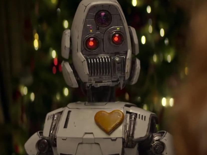 Sürüden ayrılan robotu sevgi kapar