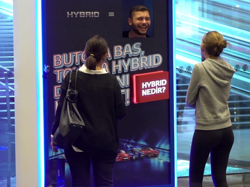 Toyota Hybrid tanıtım turlarında