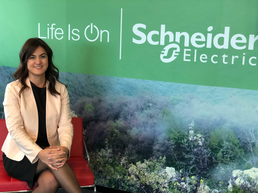 Schneider Electric'te global atama