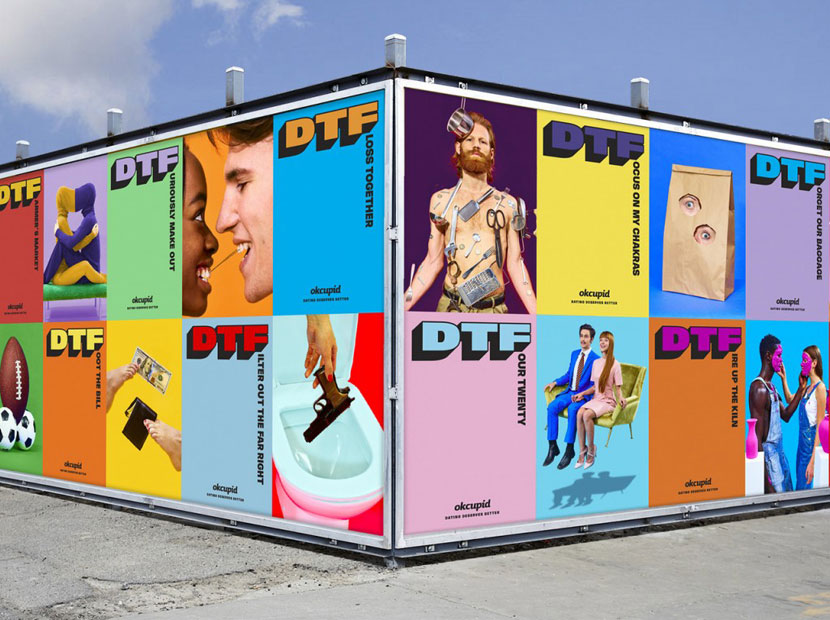 OkCupid DTF kampanyası