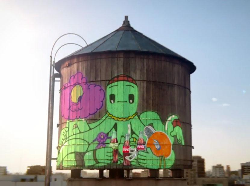 Grafitilerin de canı Coca-Cola çeker