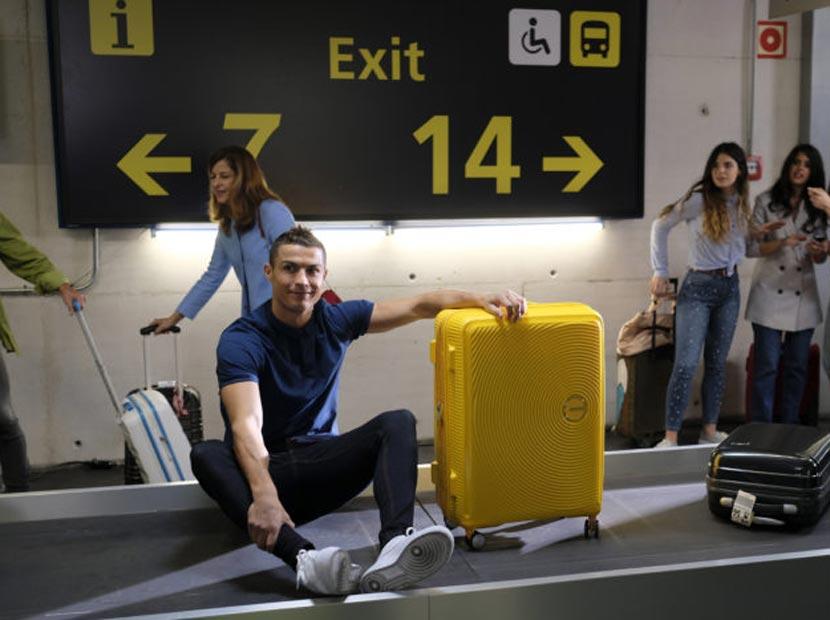 Valizine sahip çık Ronaldo