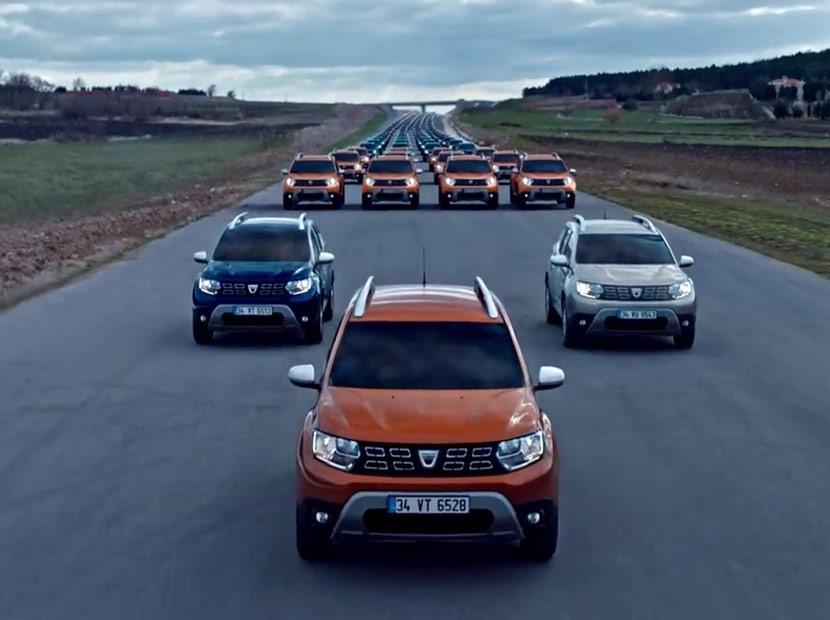 Dacia'dan ilk 100 isme özel 100 arma