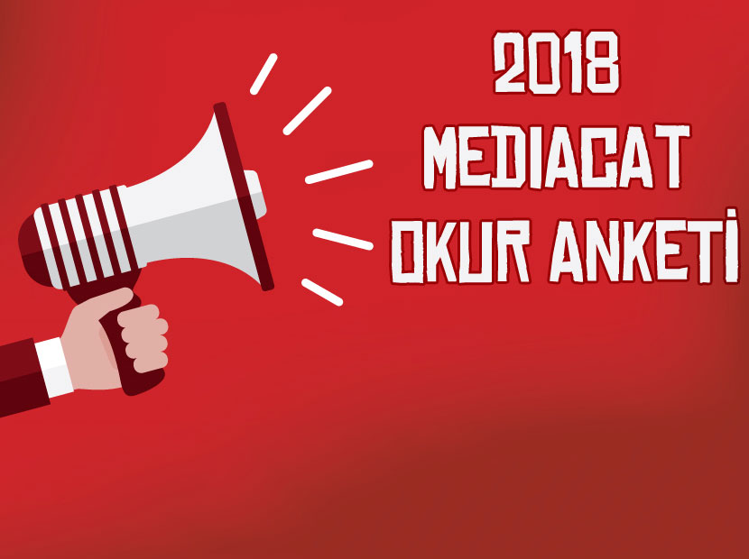 MediaCat 2018 Okur Anketi