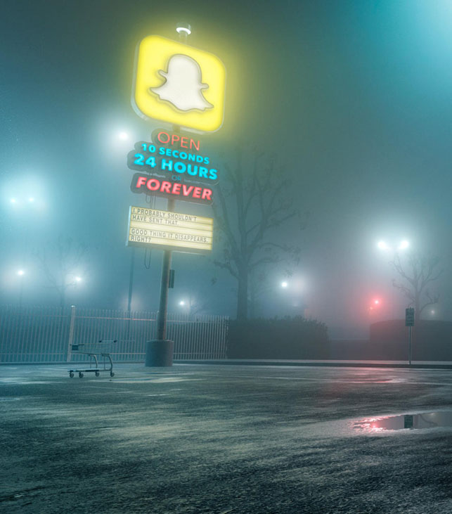 Amerikalı tasarımcı Mike Campau'dan bir sosyal medya eleştirisi.