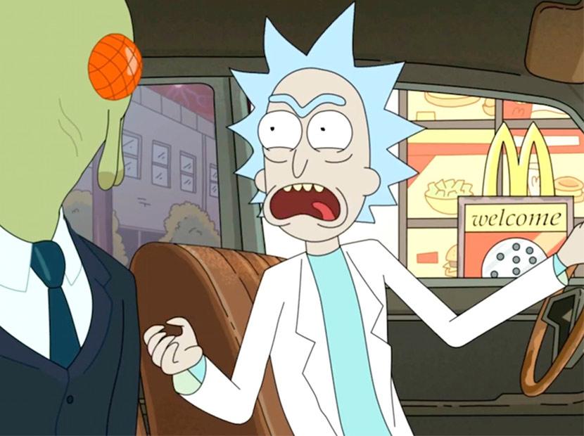 McDonald's'tan Rick and Morty hayranlarına güzel haber