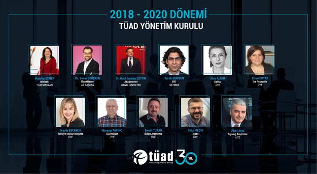 Türkiye Araştırmacılar Derneği'nde yeni dönem