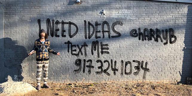 Fikrin varsa bir mesaj yolla: 917-324-1034