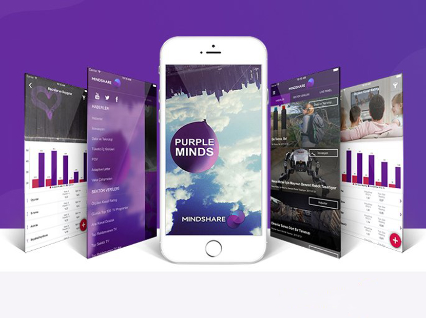 Mindshare'den sektörel mobil uygulama: PurpleMinds