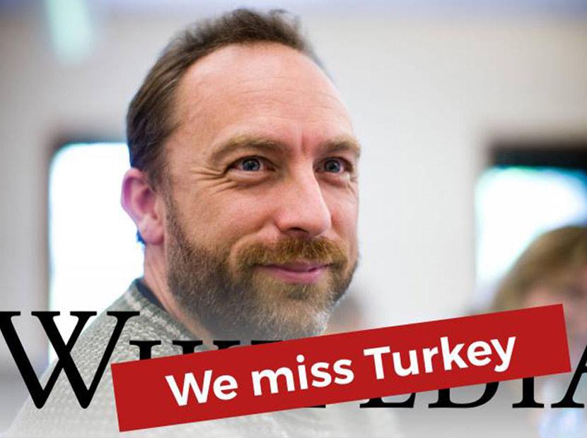 Wikipedia'dan Türkiye'ye mesaj var