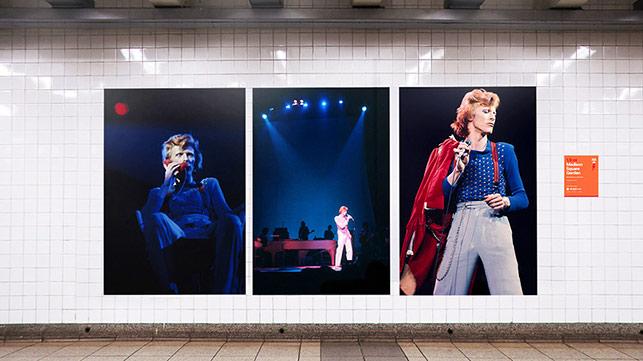 David Bowie Metro İstasyonu'na hoş geldiniz