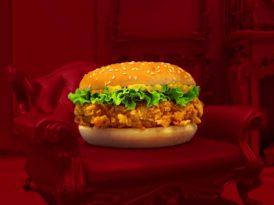 Zinger Burger'den tripler