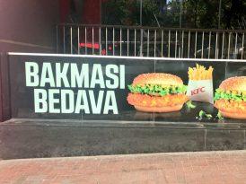 KFC Türkiye'den tepki çeken ilan