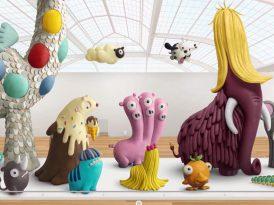 Play-Doh'dan ortaya karışık hayvanlar âlemi