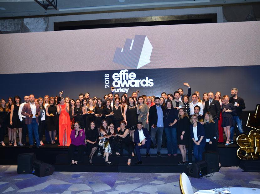 Effie Türkiye 2018'in kazananları belli oldu