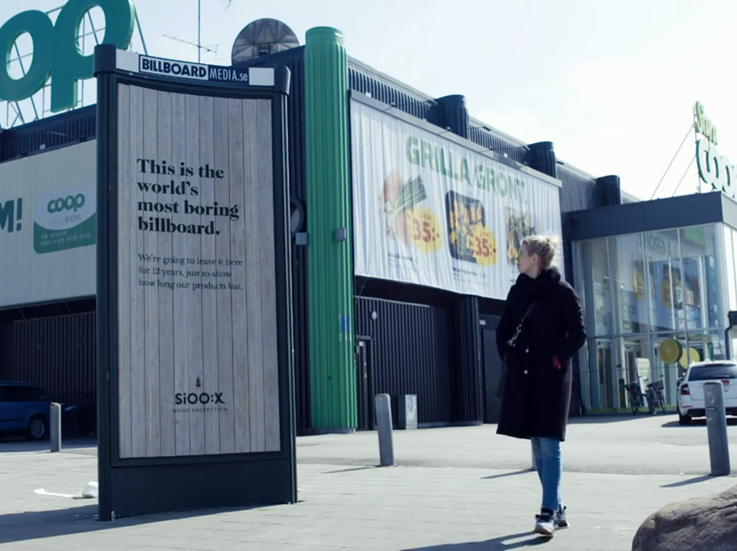 Dünyanın en sıkıcı billboard'u