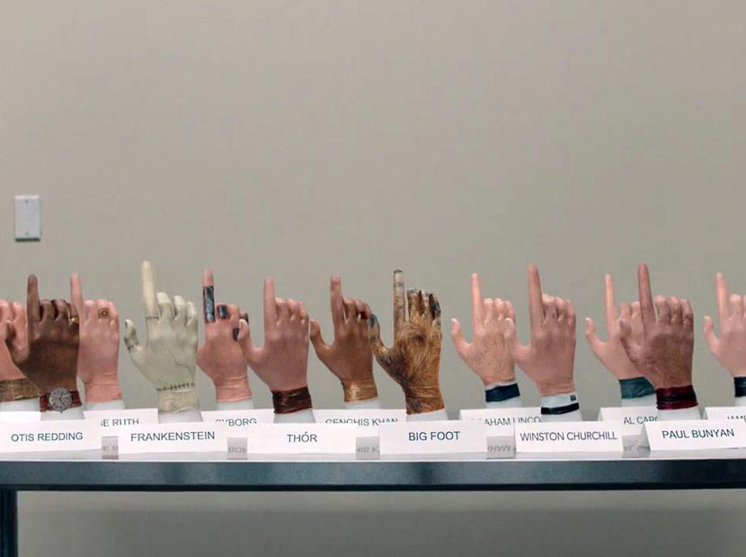Ünlü parmaklar koleksiyonu
