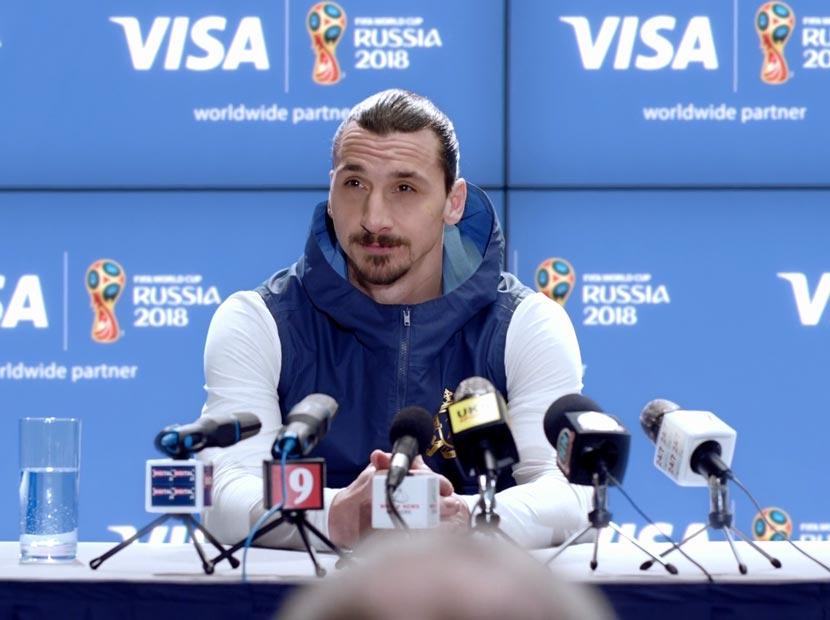 Ibrahimović Dünya Kupası'na rağmen Dünya Kupası'nda