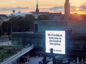 Fin gazetesinden devlet liderlerine özel karşılama