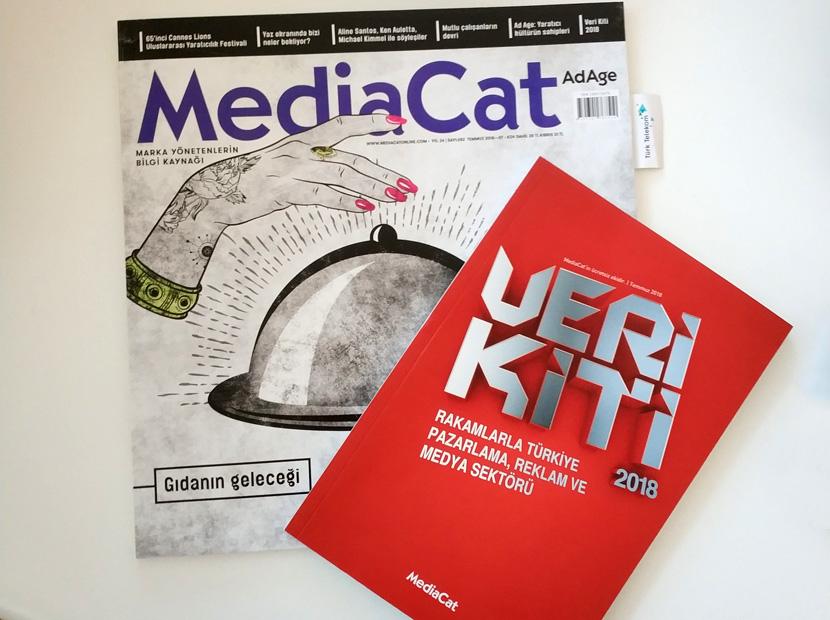 MediaCat Temmuz sayısıyla bayilerde