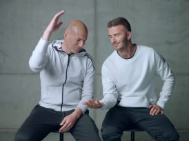 Saygılar Beckham ve Zidane'dan