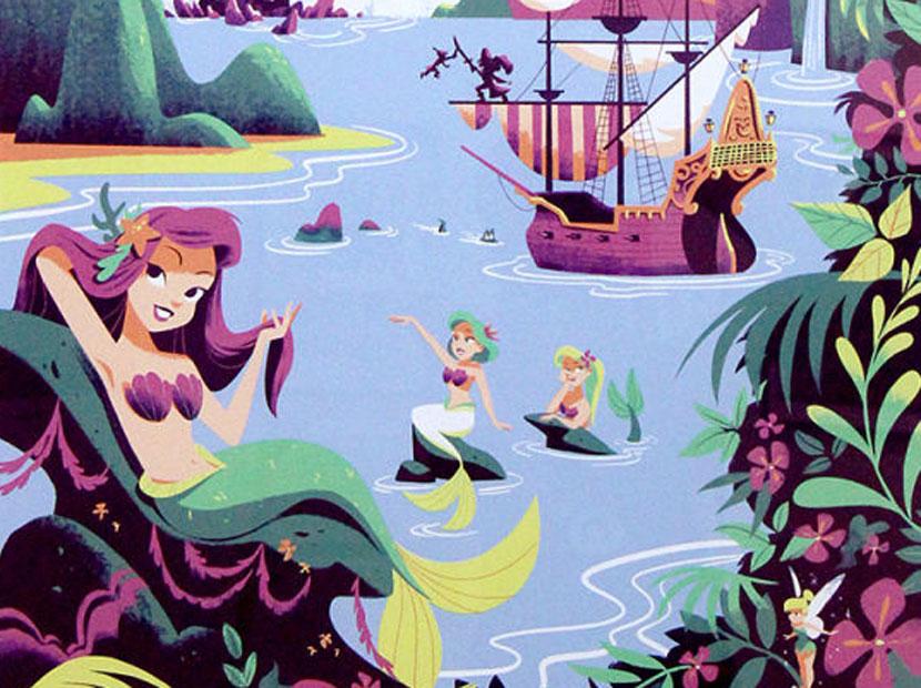 Disney'in dünyalarına yolculuk