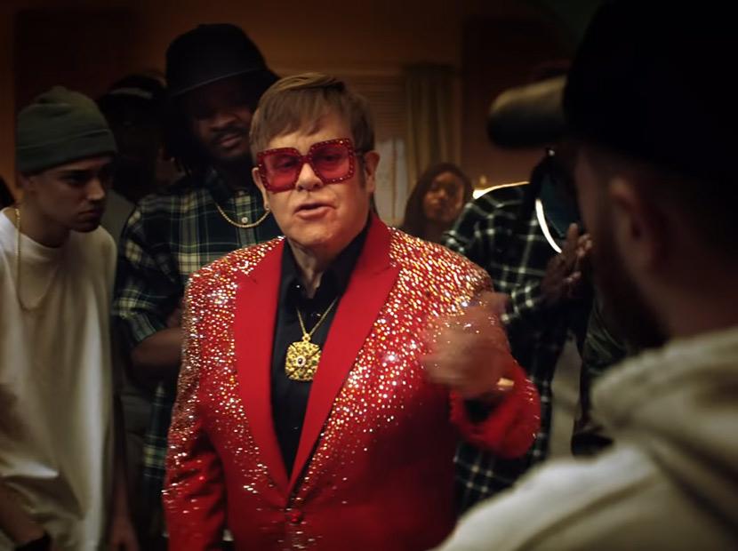 Açlık, hip-hop ve Elton John