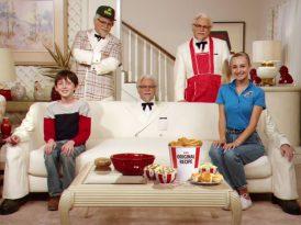 Albay Sanders ile sitcom usulü aile saadeti