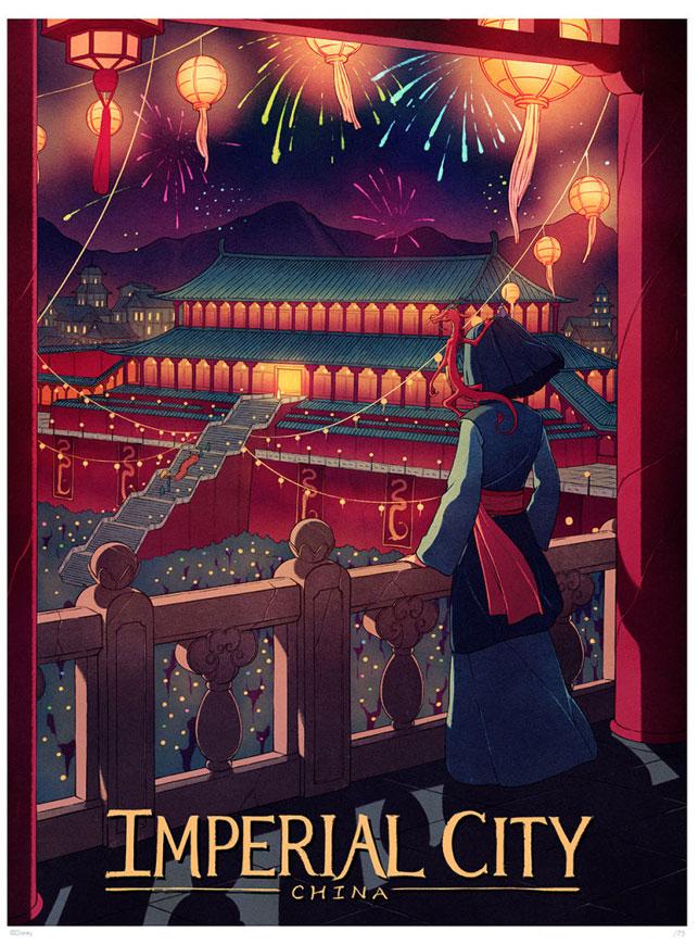 Disney'in dünyalarında yolculuk