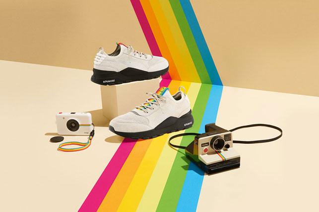 Polaroid 80'inci yılını Puma işbirliğiyle kutluyor