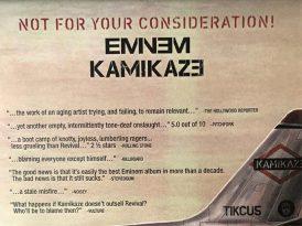 Eminem'den diss tadında ilan